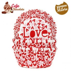 Papilotki Love Czerwone HoM 50 mm
