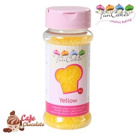 Żółta Posypka Cukrowa FunCakes