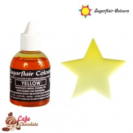 Sugarflair Żółty 60 ml