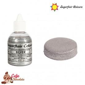 Sugarflair Perłowy Srebrny 60 ml