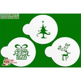 Szablon Zestaw Boże Narodzenie II