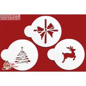 Szablon Zestaw Boże Narodzenie VII