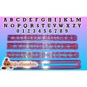 Wycinarka Alfabet LITERY + CYFRY DUŻE