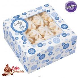 Pudełka na słodkości Śnieżynka Wilton