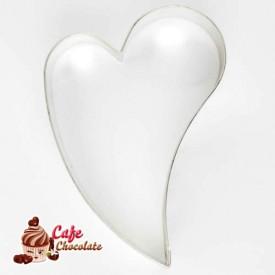 Wycinarka Serce Zagięte 7 cm