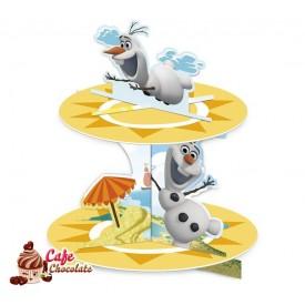 Frozen Olaf stojak na muffiny