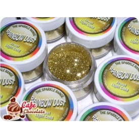 Brokat Złoty Jasny - Jewel - RD