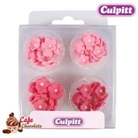 Kwiatki Mix Różowe 100 szt Culpitt