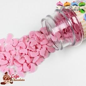 Konfetti Różowe Stópki 55g