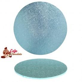 Gruba Tacka Błękitna Okrągła 25 cm