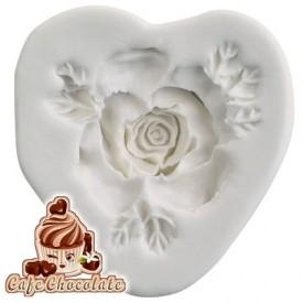 Forma Róża z listkami
