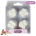 Kwiatki Mini Białe 48 szt Culpitt