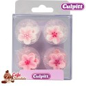 Kwiatki Różowe 12 szt Culpitt