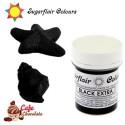 Sugarflair Barwnik CZARNY - Extra Black