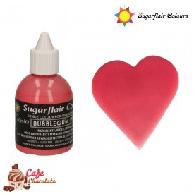 Sugarflair Różowy Guma Balonowa 60 ml
