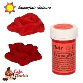 Sugarflair Barwnik CZERWONY TRUSKAWKOWY - Strawberry