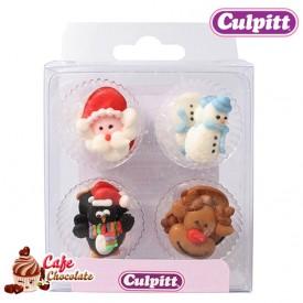 Dekoracje Boże Narodzenie II 12 szt Culpitt