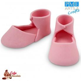 Buciki Cukrowe Różowe 2 szt PME