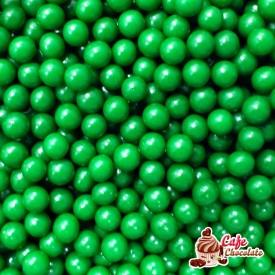 Perełki Zielone Święta nabłyszczane 5 mm