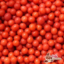 Perełki Czerwone Święta nabłyszczane 5 mm