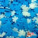 Konfetti Snieżynki Płatki Mix 10mm