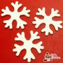 Snieżynki Perłowe 55 mm 5 szt