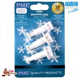 Mini Wykrawaczki Śnieżynki 3 szt PME