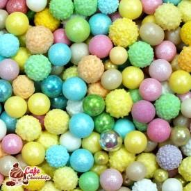 Perełki Mix Kolorów Mimoza 4-8 mm