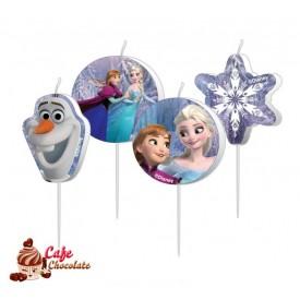 Świeczki Pikery Frozen 4 szt