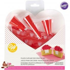 WILTON Zestaw Walentynkowy 7 elementów