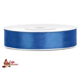 Tasiemka satynowa Niebieska Królewska 12 mm 25 m