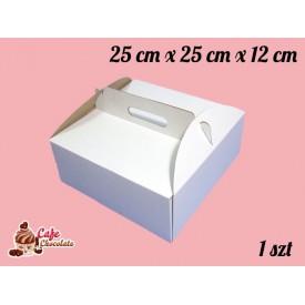 Karton na tort 25x25x12 cm 1 szt