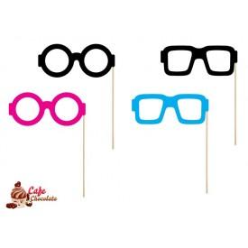 Toppersy Kolorowe Okulary 18 cm 4 szt