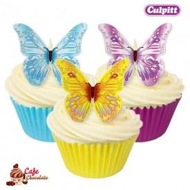 Motyle Waflowe 12 szt Culpitt
