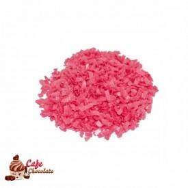 Posypka Waflowa Różowa Ciemna 100g
