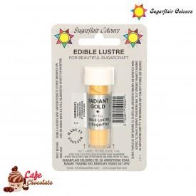 Barwnik Promienny Złoty 2g Sugarflair