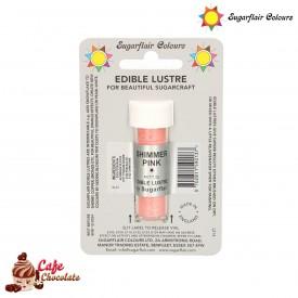 Barwnik Błyszczący Różowy 2g Sugarflair