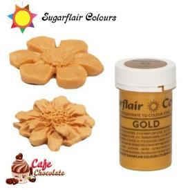Sugarflair Barwnik SATYNOWE ZŁOTO - Satin Gold