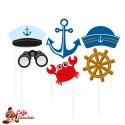 Zestaw Marynarski 6 elementów