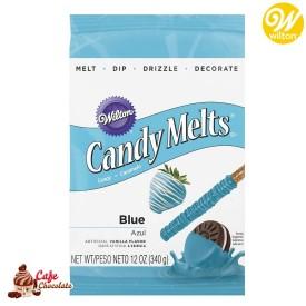 Polewa Niebieska Candy Melts 340g Wilton