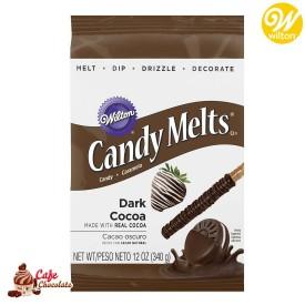 Polewa Ciemna Czekolada Candy Melts 340g Wilton