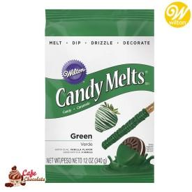 Polewa Zielona Ciemna Candy Melts 340g Wilton