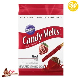 Polewa Czerwone Candy Melts 340g Wilton