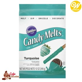 Polewa Turkusowa Candy Melts 340g Wilton