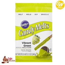 Polewa Zielona Jasna Candy Melts 340g Wilton