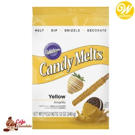 Polewa Żółta Candy Melts 340g Wilton