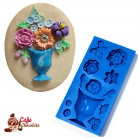 Forma Bukiet z kwiatkami