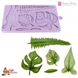 Forma Zestaw Liście Tropikalne Karen Davies