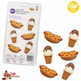 Forma Hot-Dog'i i Lody Wilton