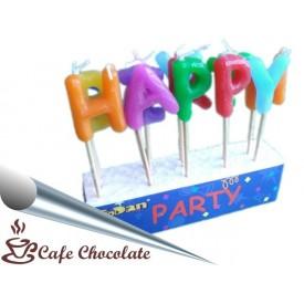 Świeczki Pikery - Happy Birthday
